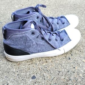Converse Unisex High Top Sneakers Grey